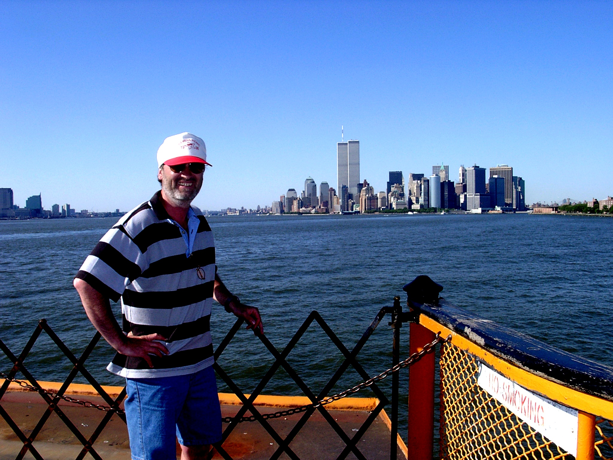 Ferry Boat to Manhatten